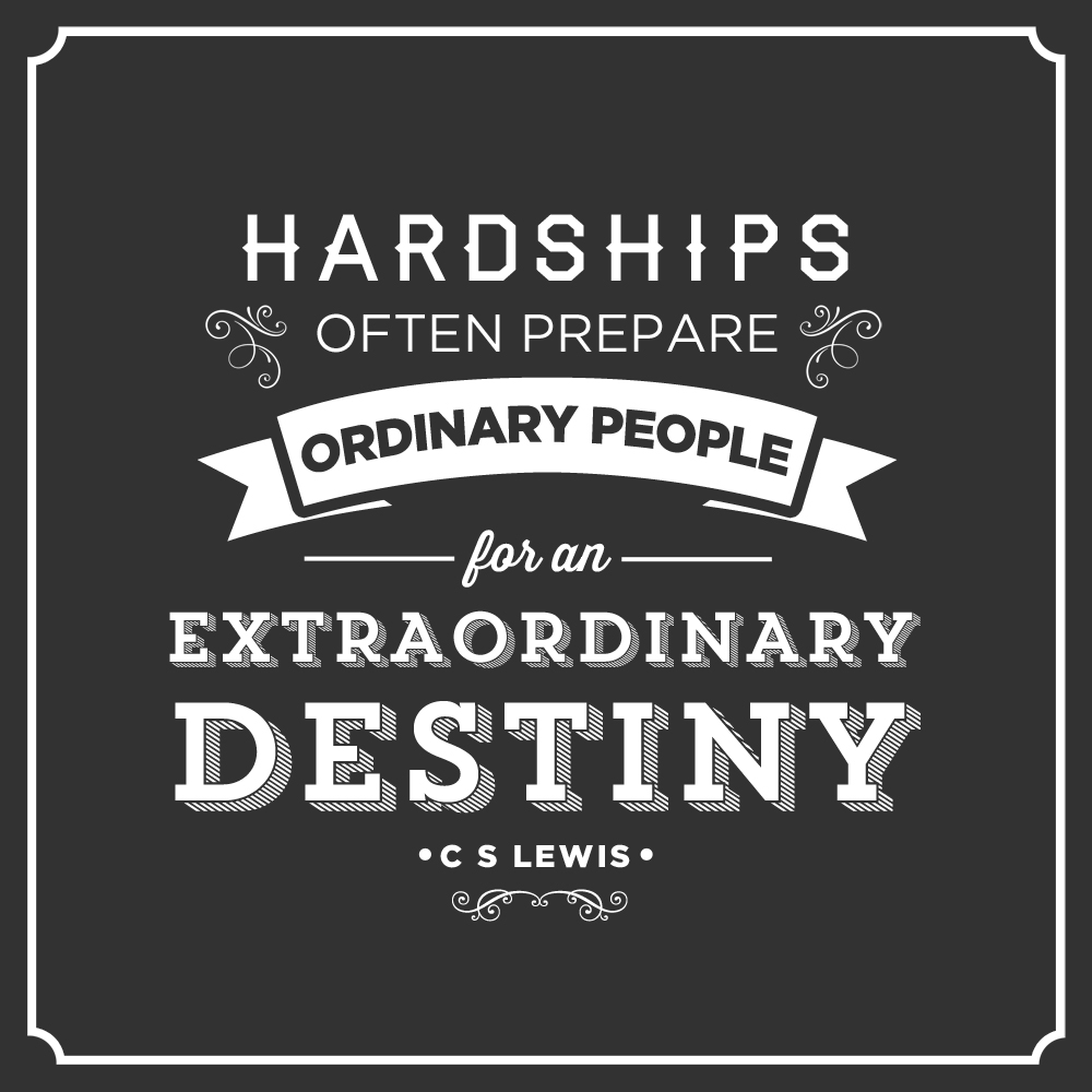 Extraordinary Destiny – CS Lewis