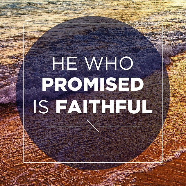 He who promised is faithful - Pocket Fuel