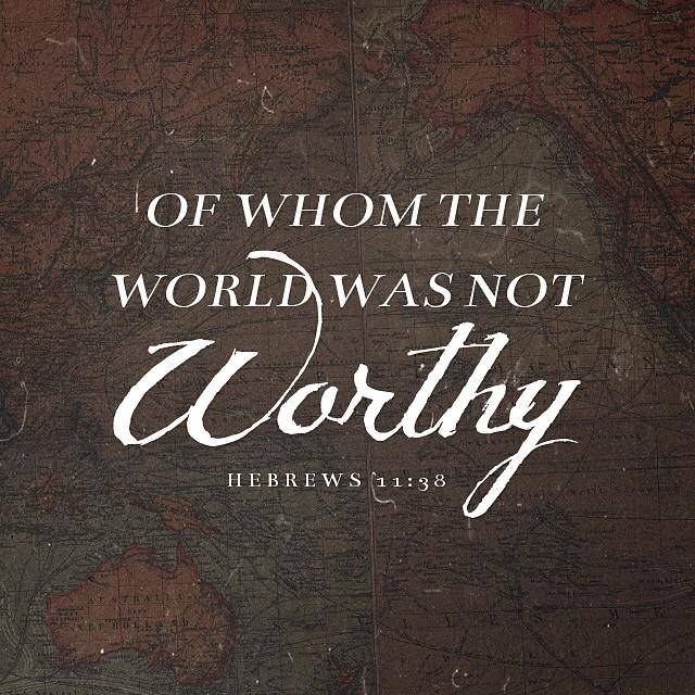 Not Worthy…
