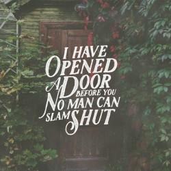Open Doors - Pocket Fuel Daily Devotional Rev 3:8