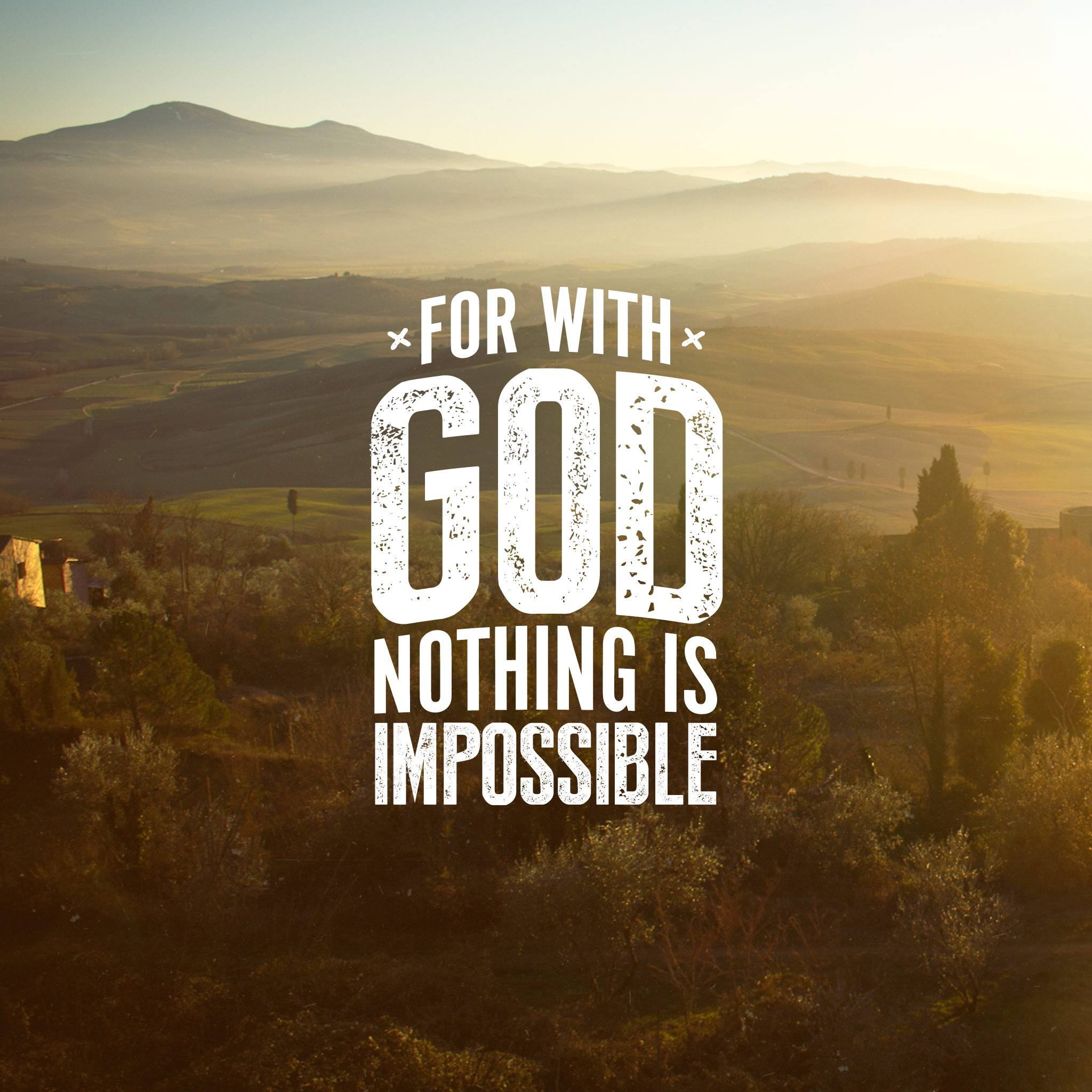 Resulta ng larawan para sa for with god, nothing is impossible