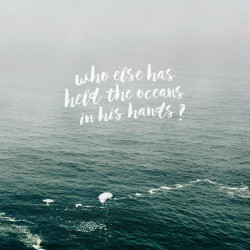 Oceans Deep - Pocket Fuel Daily Devotional on Isa 40:12