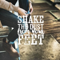 Disciples And Dust - Pocket Fuel Daily Devotional Matthew 10:14