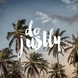 Do Justly - Pocket Fuel Daily Devotional and Meditation on Micah 6:8