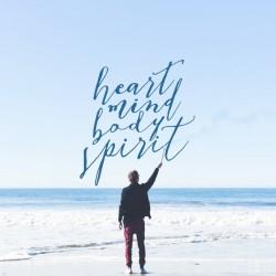 Heart, Mind, Body, Spirit - Cross Series Part 1 - Daily Devotional on Matt 16:24