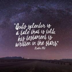 Sky High - Part 1 - Daily Devotional on Psalm 19:1
