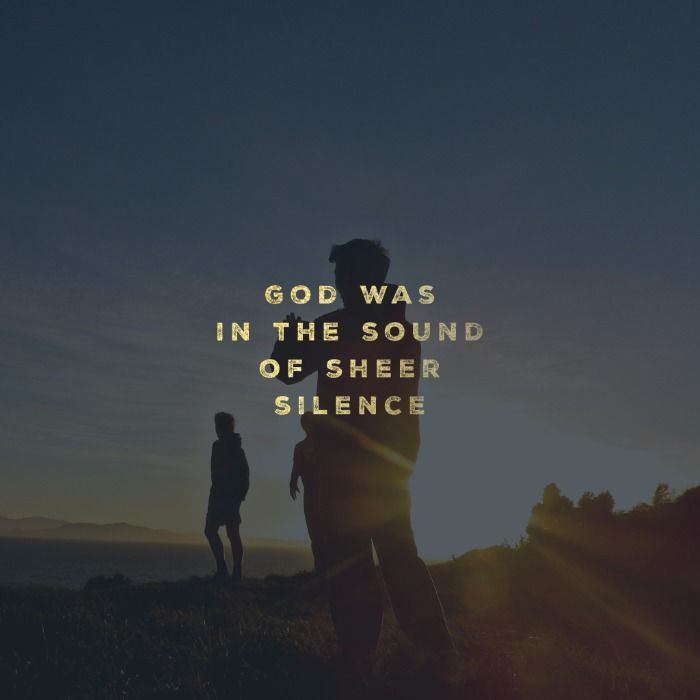 Elijah and the Sound of Sheer Silence – Part 3