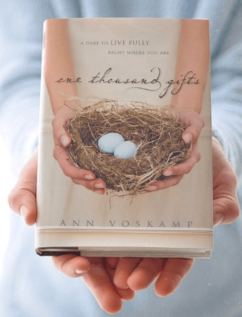 One Thousand Gifts -Ann Voskamp
