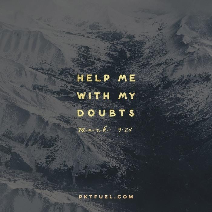 My Faith – The Believe Series – Part 6 - Pocket Fuel on Mark 9:24