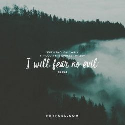 Psalm 23 – Going Through Hell Series – Part 1 - Pocket Fuel