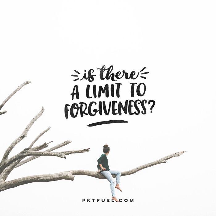 Limit Less – Forgive Series – Part 1 - Pocket Fuel on Matthew 18:21