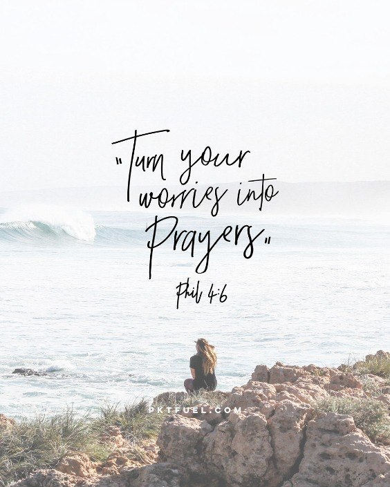 Worry About This - Worry, Prayer and Imagination - Pocket Fuel on Philippians 4:6