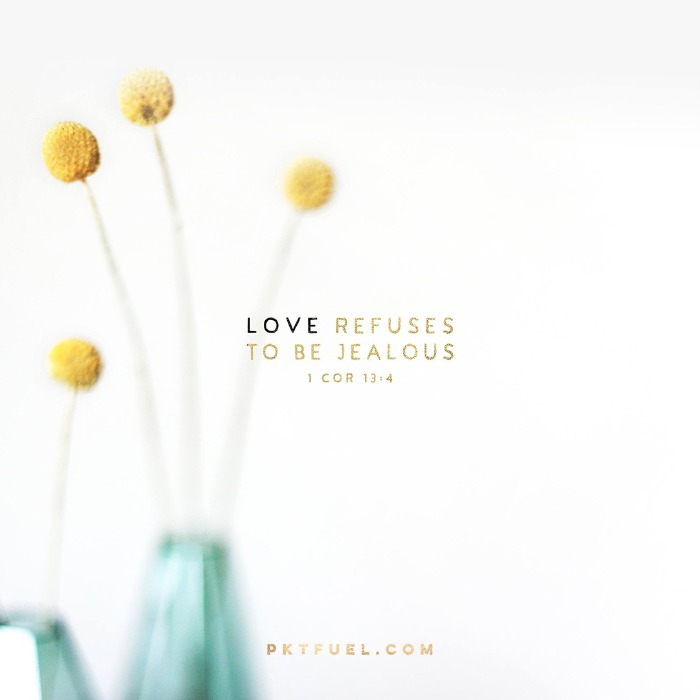 Be Jealous – Love Series – Part 3 - Pocket Fuel on 1 Corinthians 13:4