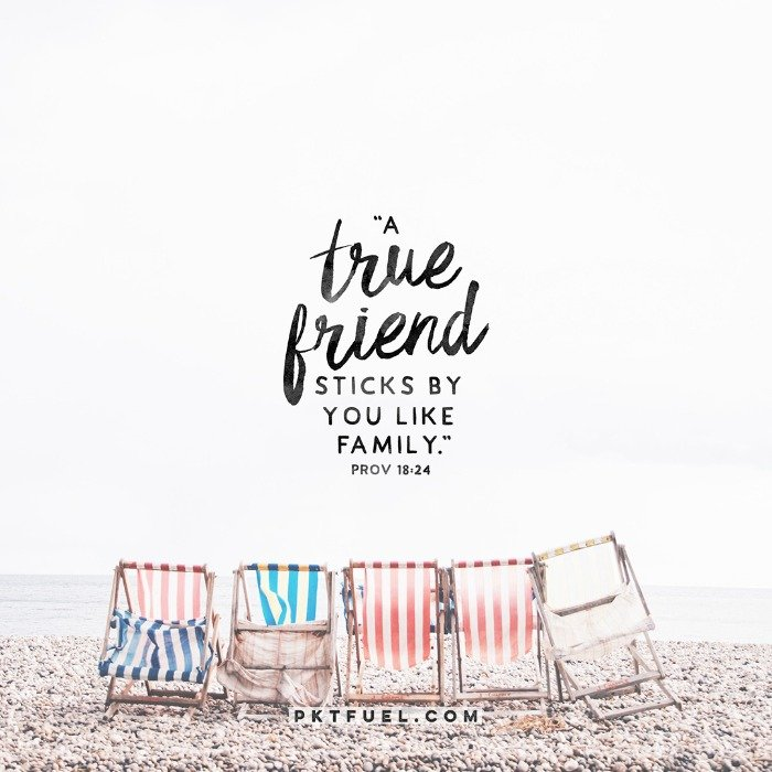 True Friend - Relationship Series – Part 2 - Pocket Fuel on Proverbs 18:24