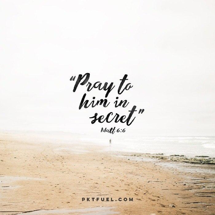 Public Prayer – Teach Us How To Pray – Part 2 - Pocket Fuel on Matthew 6:6