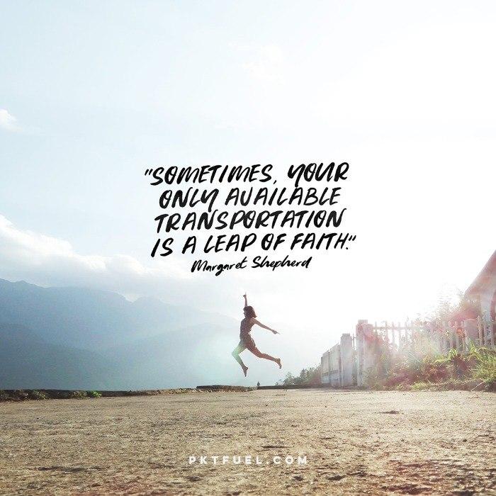 Walking on Water – Faith Leap Series – Part 2 - Pocket Fuel on Matthew 14:29