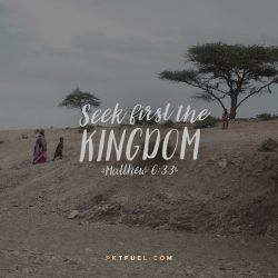 Oppression-Free Kingdom – Sermon on the Mount Series – Part 11 - Pocket Fuel on Matthew 6:33