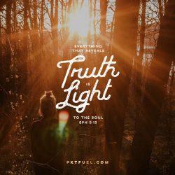 Revelation Light – Weaker Stronger Series – Part 2 - Pocket Fuel on Ephesians 5:13