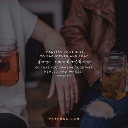 Temptation and Prayer – Sermon on the Mount Series – Part 2 - Pocket Fuel on James 5:16