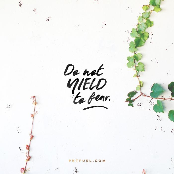 Do Not Yield – What's Next Series – Part 2