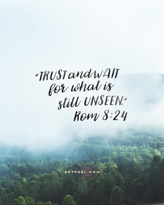 Trust Is – What's Next Series – Part 4 - Pocket Fuel on Romans 8:24