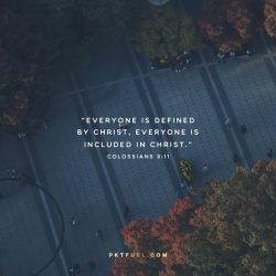 Everyone is Included – The Wonder and Grace Series – Part 5 - Pocket Fuel on Colossians 3:11
