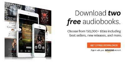 Two Free Audible Audiobooks