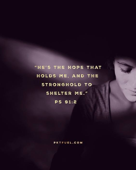The Stronghold – The Lent Series – Part 6 - Digital Sabbath - Pocket Fuel on Psalm 91:2