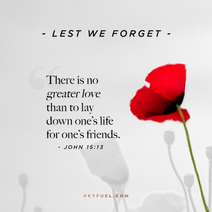 Anzac Day – No Greater Love