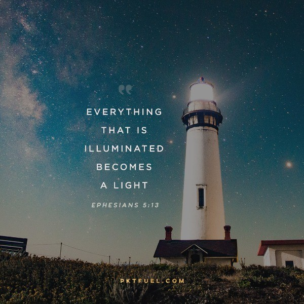 Everything That is Illuminated – The Light Series – Part 4