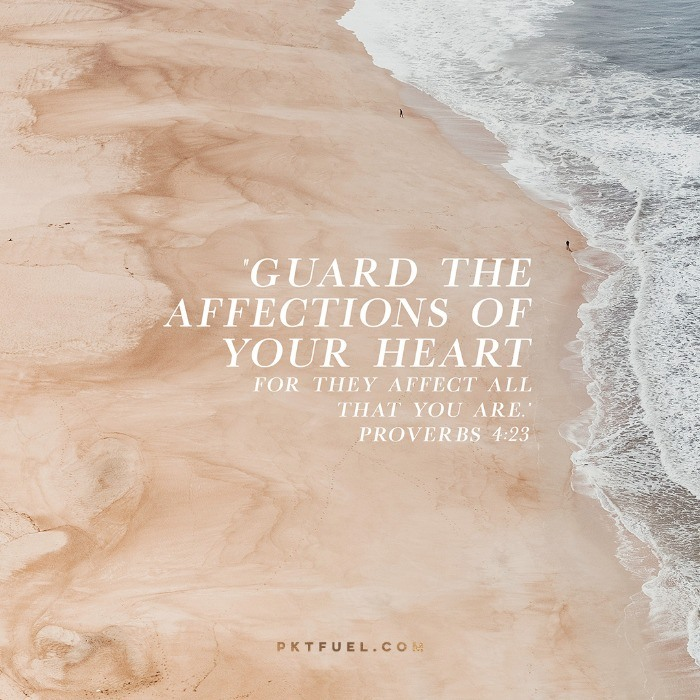Original Design – The Heart Of The Matter – Part 2 - Pocket Fuel on Proverbs 4:23