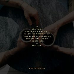 Give Something - The Connection Between Generosity And Enoughness - Hebrews 13:16