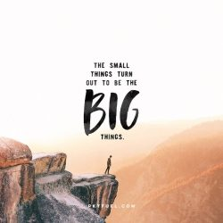 The Big Things – Small Things Series – Part 1 - Pocket Fuel on Luke 16:1