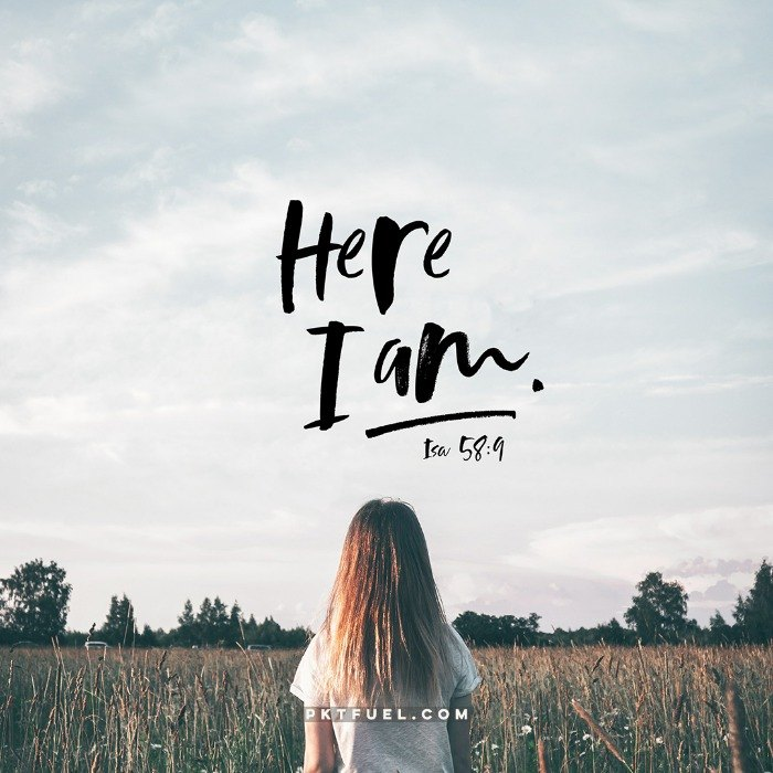 Here I am Lord, send me – The Here I Am Series – Part 5
