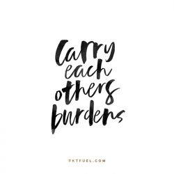 Carry Each Other's Burdens – The Receive Series on Galatians 6:2