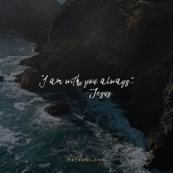 Why Me vs Me Too - The Importance of Presence on Matthew 28:20