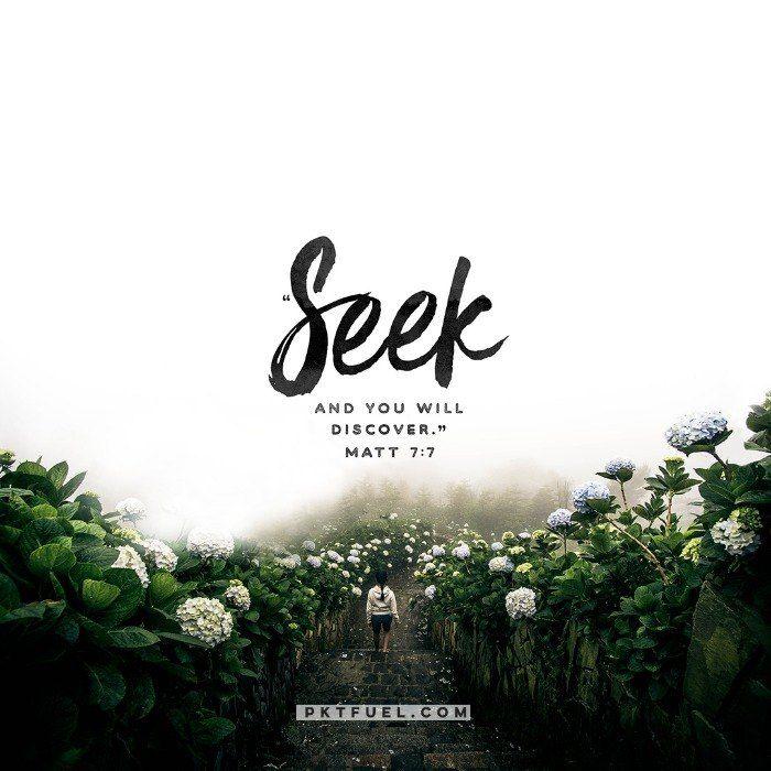 Practice Engagement – The Cliche Series on Matthew 7:7