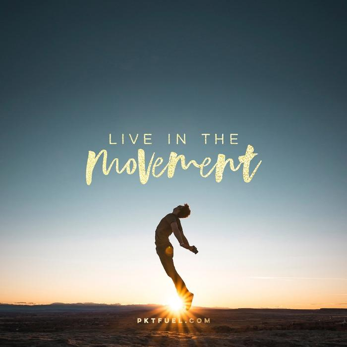 Give Your Entire Attention – Live In the Movement Series – Part 1