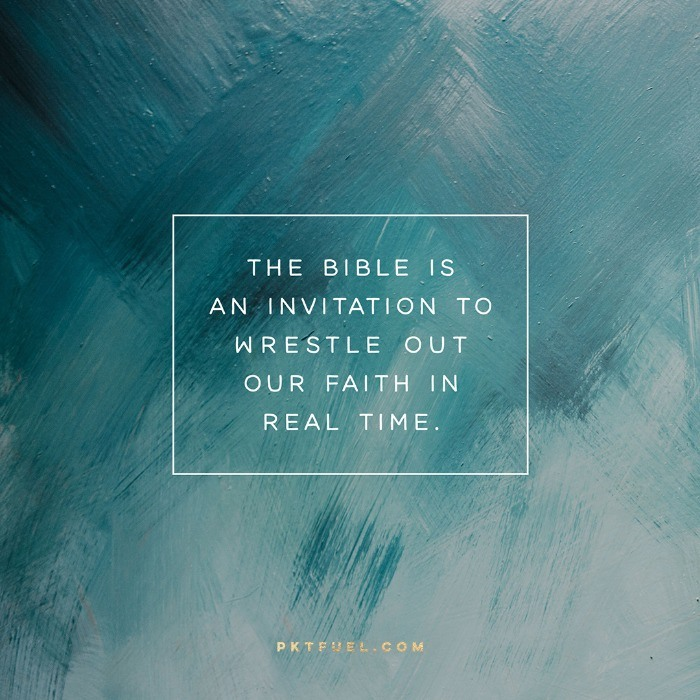 The Bible Isn't a Rule Book –The Practice Series on Peter Enns