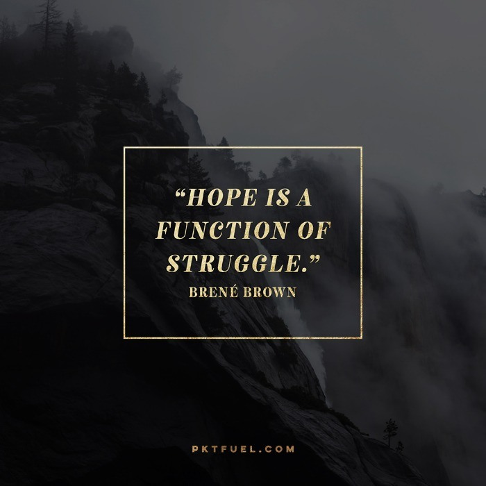 Hope is Not an Emotion – The Promise Series on Brene Brown