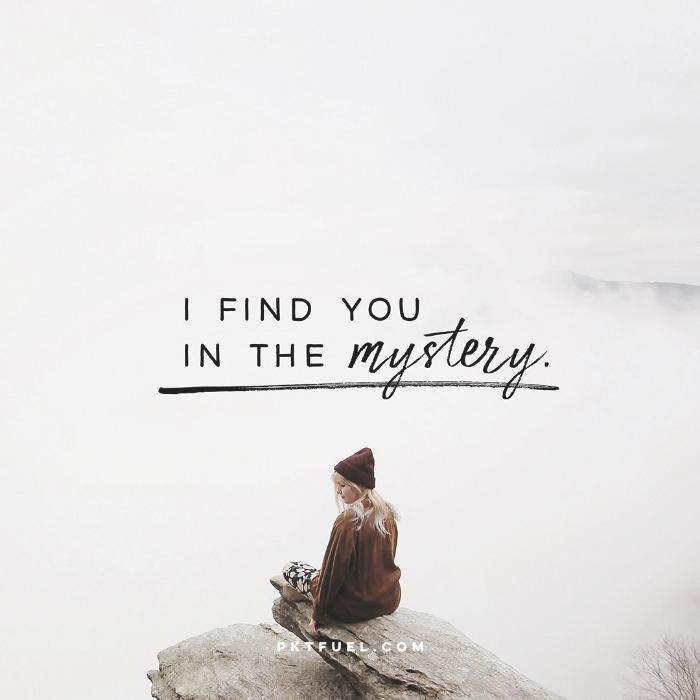 I Find You in the Mystery – Oceans by Hillsong United