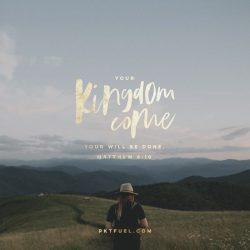 The Lord's Prayer –The Verses Series on Matthew 6-10
