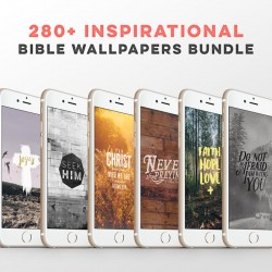 280+ inspirational bible wallpapers bundle
