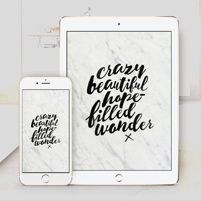 Hope-Filled Wonder – Wallpaper Download – $1